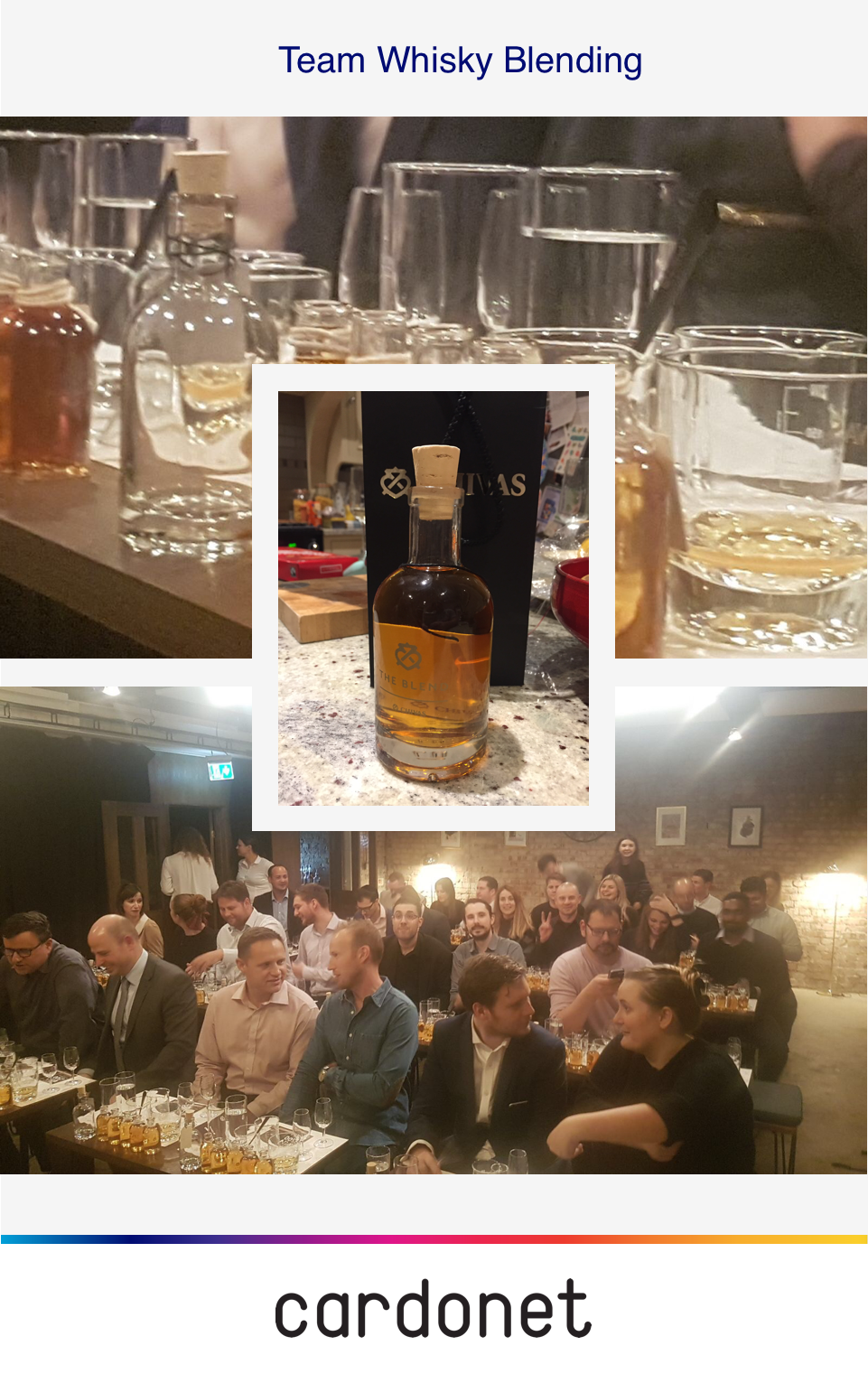 Cardonet Team Whiskey Blending London